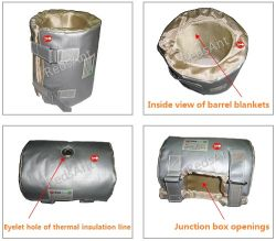 Matériel d'isolation thermique pour le chauffage, tuyaux, vannes et plus