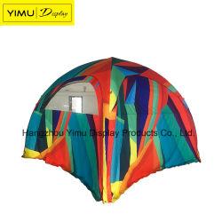 Печать 3X3m 4X4m 5X5m 6X6m надувной купол колесной арки событие Палатка для деятельности на открытом воздухе