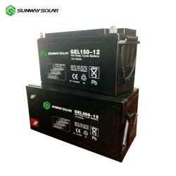 Sunway гель глубокую цикл батареи 12V 200Ah инвертора ИБП зарядное устройство аккумуляторной батареи