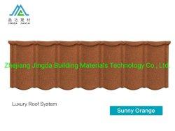 Accessori rivestiti delle mattonelle di tetto del metallo del tetto della pietra del certificato CE/PC/Soncap/ISO9001 della pietra rivestita dello strato con il prezzo di fabbrica