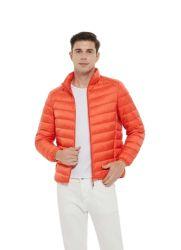 Nueva chaqueta de plumón Parka para hombre de invierno a prueba de viento con Capucha de piel