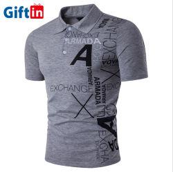 Разработке нестандартного сухой печати установите Пике короткие втулки поло T футболка