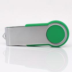 محرك أقراص USB محمول مخصص سعة 1 جيجابايت و64 جيجابايت دوار لمحرك أقراص USB محمول بلاستيكي محرك أقراص USB/ذاكرة USB