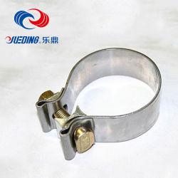En acier inoxydable 304 Tube d'échappement automobile O forme collier de serrage