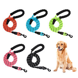 Tecidos sólidos Anti-Crack Nylon trançada PP/PET Leash Corda