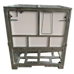 Стальные Galvaznized складной контейнер с пластмассовой панели