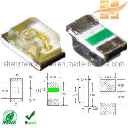 SMD LED 0402 seule couleur pour l'affichage 7 segments SMD