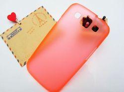 Transparentes Weiche bereifte harte rückseitige Fall-Abdeckung für Samsung-Galaxie Siii S3 I9300