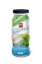 acqua della noce di cocco della bottiglia di vetro 300ml
