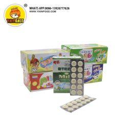 Os doces de leite seco snacks 10PCS Tablet doces de leite