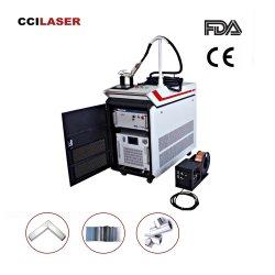 Flw-1500 1000W 1500W de corte por láser Grabado láser de fibra de la batería con Qilin soldadora soldadura láser jefe