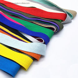 Nastro Herringbone della saia del cotone del nastro tessuto cotone della fabbrica 100%