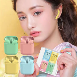 I12 Auriculares inalámbricos Bluetooth Tws mini auricular estéreo auriculares auriculares deportivos auriculares Bluetooth para teléfono móvil