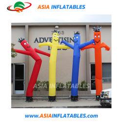 Danseuse de l'air avec une jambe/publicité danseuse de l'air gonflable