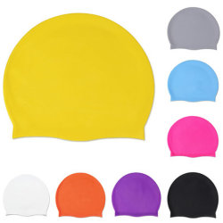 В отеле есть логотип кремния Водонепроницаемые крышки защиты ушей длинные волосы спорта купальный бассейн в отеле Red Hat винты с головкой