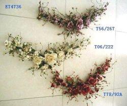 Flores artificiais/Velvet Flower/Swag (ET4736)