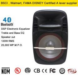 USB/SD 미디어 플레이어가 있는 15인치 파워 스테레오 스피커