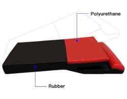 Ленточный транспортер кромки уплотнения обтекатели платы юбки полиуретана резиновые