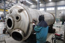 China Vasos de pressão fornecido com a norma ASME ou Ce-PED Certificações