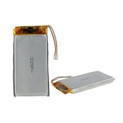 Бис IEC62133 Kc MSDS сертифицированных Lipo ячеек 1265135 высокая емкость 3,7 10000mAh литий полимерная батарея
