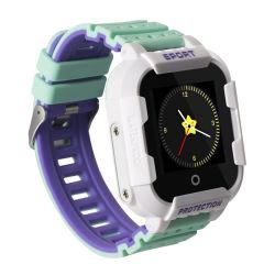 Het Gouden Roestvrij staal van het horloge, het Horloge van de Sport van de Steen van de Band)