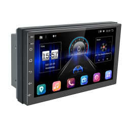 نظام الملاحة بجودة الصوت العالي DIN مزدوج عالمي بنظام معالجة الإشارات الرقمية Android 10.0 راديو متعدد الوسائط مشغل ستريو للسيارة DVD