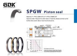 De Hydraulische Verbindingen van de Reeks van de Verbinding Pistion van Gdk spgw-PTFE+Rubber+Ny voor Mechanische Bouw