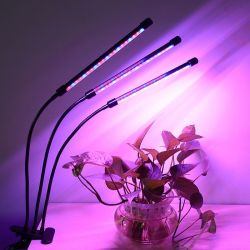 Der Hauptgebrauch, der 5V 18W 54*LED drei Gefäß-Klipp ändert, wächst für Pflanze hell