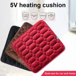 O inverno aquecimento eléctrico Carro Almofada Tapete Quente Almofada do Assento