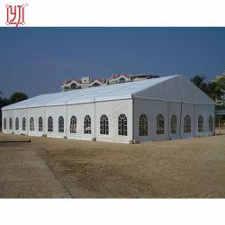 Resistente al agua blanca grande 18X40 Carpa Carpa salón de bodas para el exterior