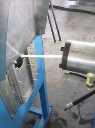 أداة استخراج خرطوم مطاط من السليكون عالي الأداء من النوع الأفقي تغذية باردة