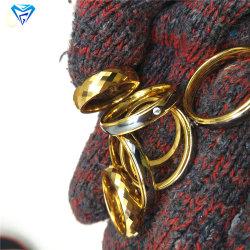 Польский Mirrow многогранных желтой лампы накаливания кольцо Diamond форму