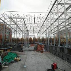 Tubo cuadrado de acero galvanizado con efecto invernadero de vidrio usados