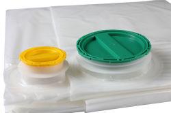 1200 liter Double Spout Non-aseptic PE zak / aseptische zakken Voor fruit Paste