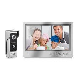 """Interfono video IP impermeabile da 9"""" TF LCD senza fili Kit campanello"""
