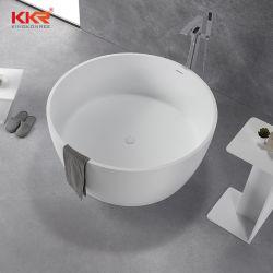 Оптовая торговля Sanitaryware твердой поверхности отдельно стоящая ванна в ванной комнате серого цвета