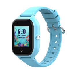 Los niños Smartwatch, el GPS Tracker Samrt Themoemoe Kids reloj con cámara llama Sos Reloj inteligente para los niños Chicas Chicos (azul).