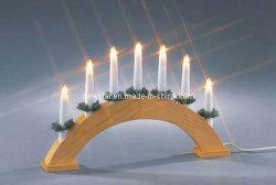 Lampada a candela a ponte in legno da 7L (NS860017)