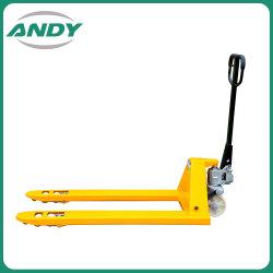 Herramienta de levantamiento de metal transpaleta manual, manual, el material equipos hidráulicos