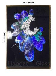 Motif de fleurs Art Collection Cloisonne artisanal de la peinture chinoise
