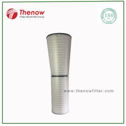 O filtro do cilindro e Cone do filtro para o Sistema de Admissão de Ar da turbina a gás, F7~F9 Eficiência Energética