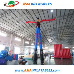 Almofada insuflável duas patas Ar Menina Sky Dancer Multi-Color Perna duas vezes o homem do Tubo