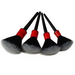 車の詳述のブラシ掛け清浄の自然な雄豚のヘア・ブラシの自動細部は製品5PCSの車輪のダッシュボードの車スタイルを作るアクセサリに用具を使う