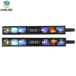 그라데이션 색상 풀 컬러 디지털 프린팅 방수 IP67 성능 폴리에스테르 3m 접착제로 된 Stouch Electronic Membrane Keyboard(키패드 패널