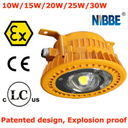 Atex LEDの耐圧防爆洪水ライト20W UL844-C1d2