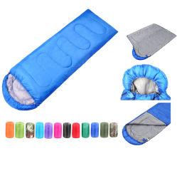 Dobragem grossista Ultralight Logotipo personalizado Saco de dormir com bolsa compacta Camping Sleeping Pod Saco de dormir para 3 Seasons