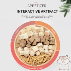 Yee melhor qualidade saudável pequeno animal nutritivo estável Coelho de comida Hamsters comida