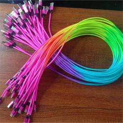 2020 nieuwe Trending Rainbow kleurrijke Mini USB kabel mobiele telefoon Accessoires snoer USB-kabel Micro USB-oplader datakabel Voor promotionele geschenken