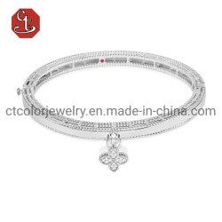 Мода женщин Bangle 925 серебристые роскошные браслеты мелкие Ювелирные изделия