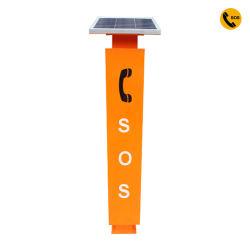 G3000 Solar de teléfono de emergencia sos el cuadro de llamadas de emergencia para el exterior